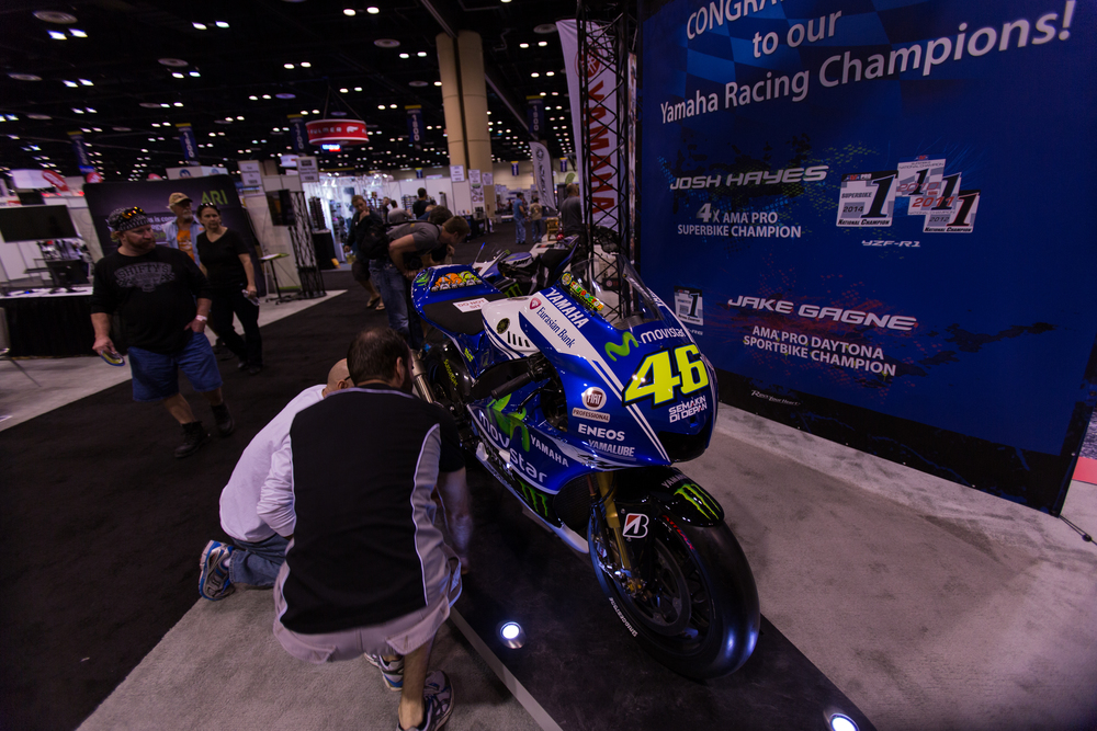 AIM Expo - Rossi's Bike