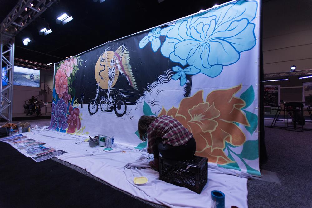 AIM Expo Mural