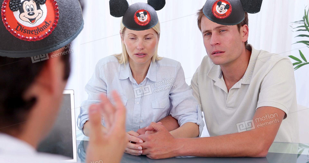 The parents of the victim did not enjoy the rest of their stay at Disney.