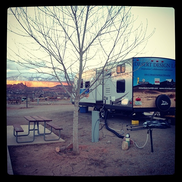 Another beautiful sunset for the Desert design Lab here in Moab UT!