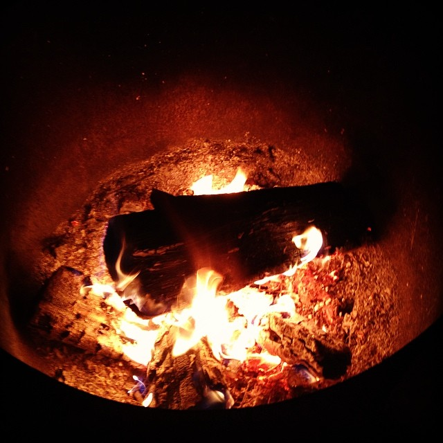 One of the best things in life… Having a camp fire at night after a fantastic and inspiring day with Tanya and the rest of the DDL crew!!