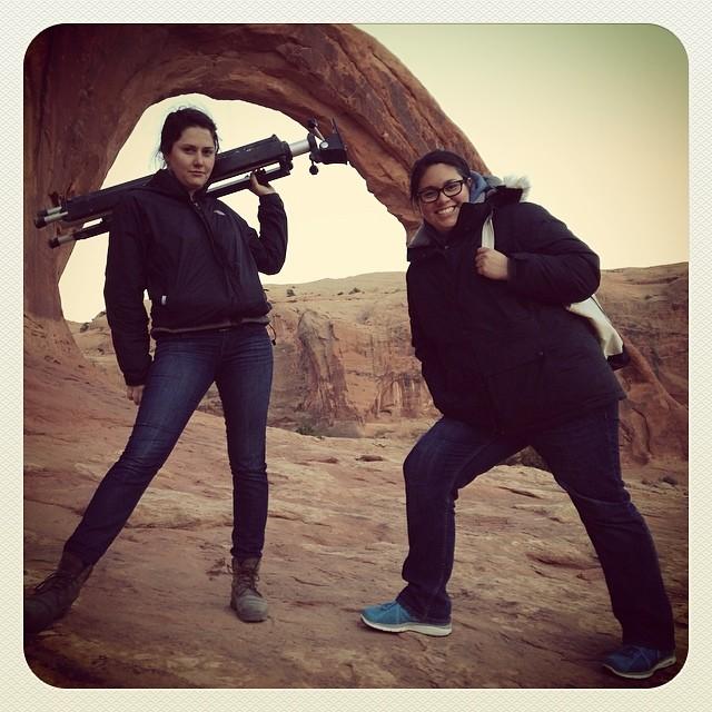 My Desert Design Lab Sherpas! #desertdesignlab#vivianbeer#moab#arches#art#furnituredesign#design#photography#desertart#desert @hannahncvaughan