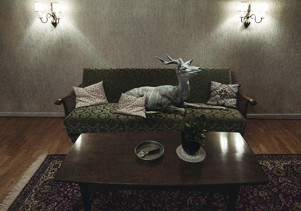 David Lundbye. Mythological Science. Untitled (Antelope) 2014.jpg