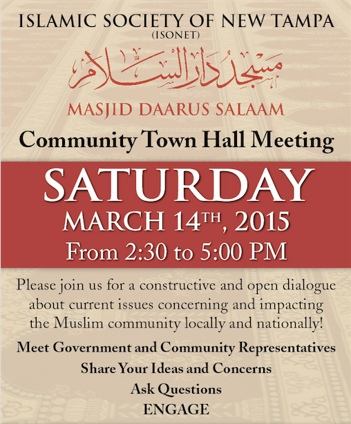 Masjid Daarus Salaam Community Town Hall Meeting