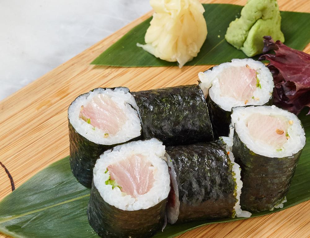 Jacks Sliders and Sushi_Yellowtail and Scallion Sushi.jpg