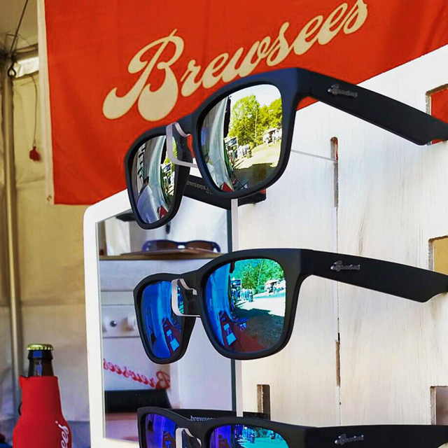 Brewsees - Polarized Sunglasses that Open Beer Bottles & Cans