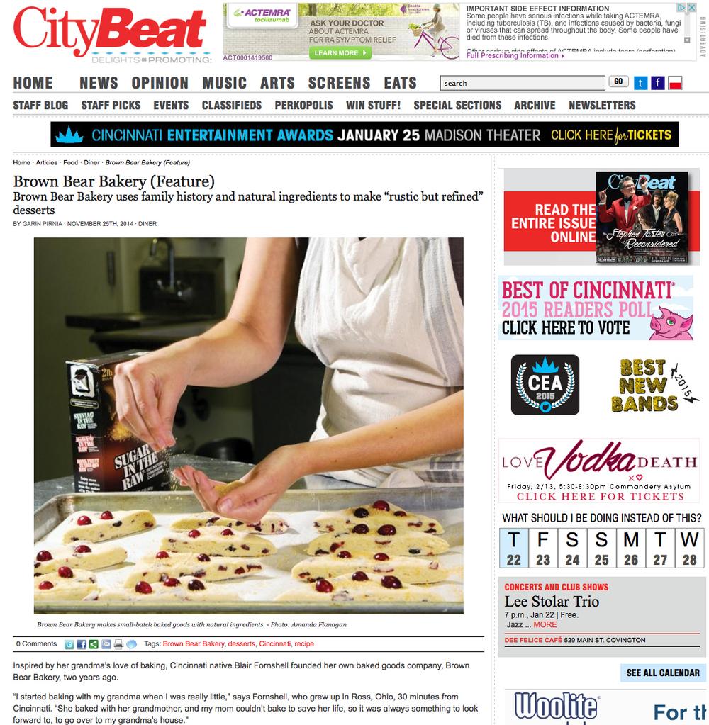 Blair Fornshell/Brown Bear Bakery