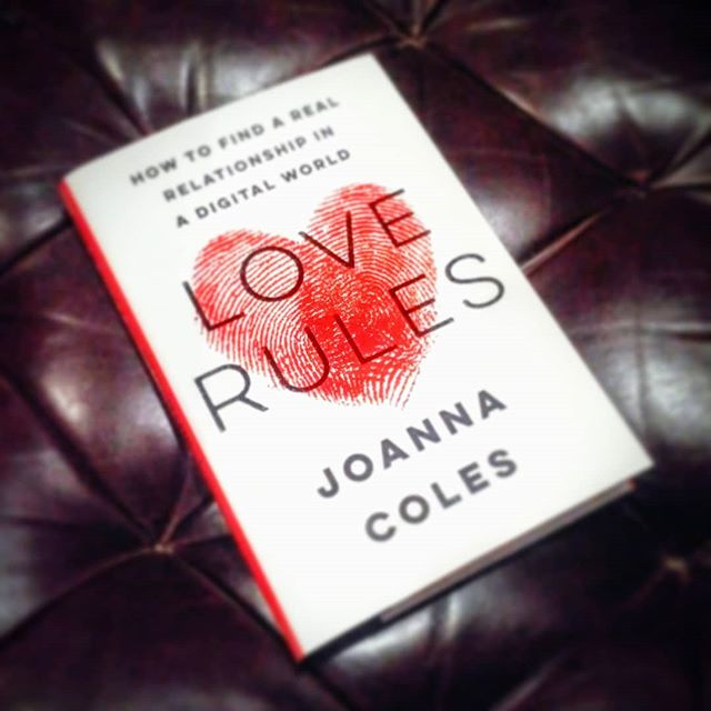 Can't wait to read my signed copy of @joannacoles new book #Love #Rules - a wonderful book launch evening hosted by Michael Clinton #bedtime #book #reading