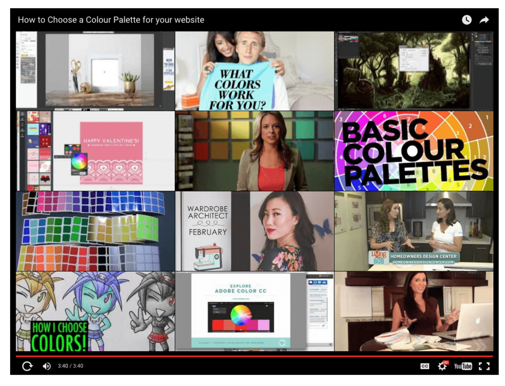At The End Of The Video You See All These So Called Related Videos I Dont Want To See That Neither Do You