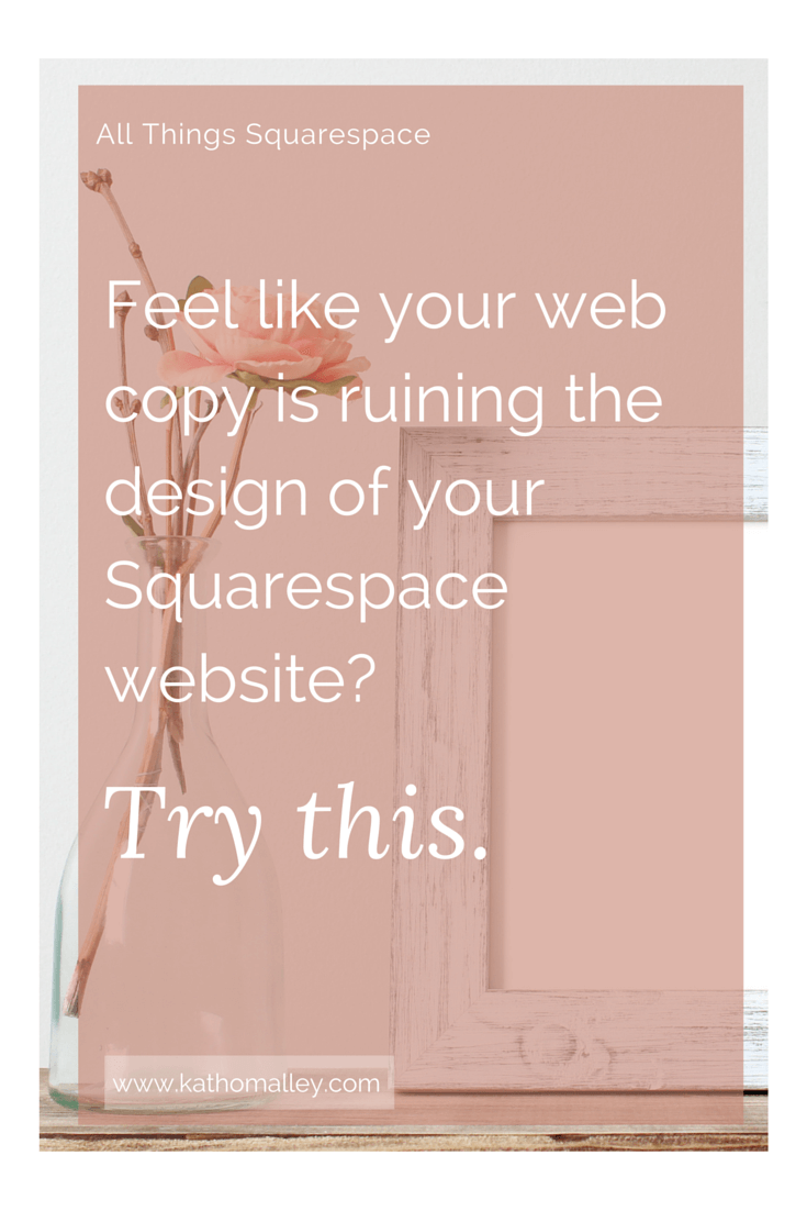 Word Counts and Web Copy for Squarespace Websites
