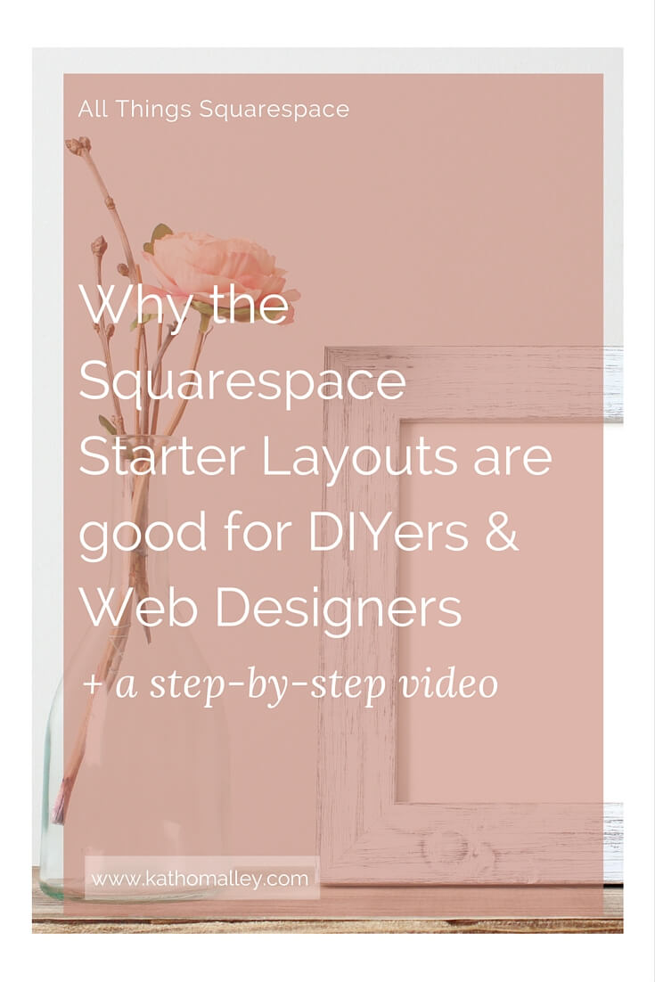 Squarespace Starter Layouts