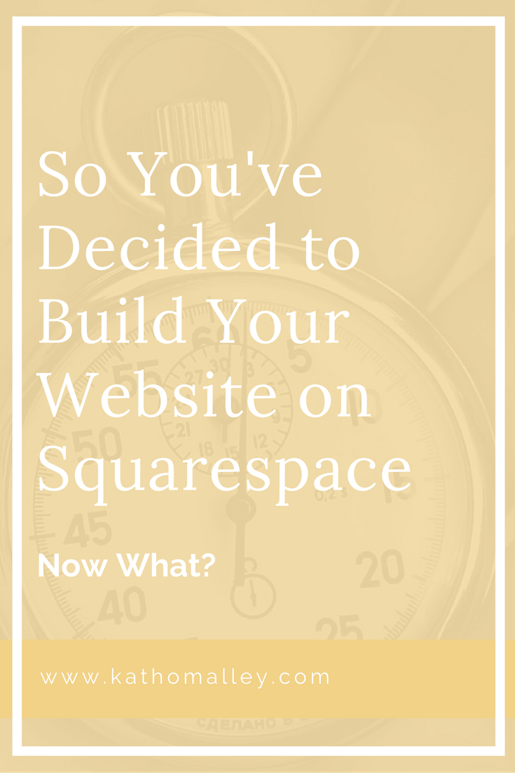 Plan and Build a Website on Squarespace