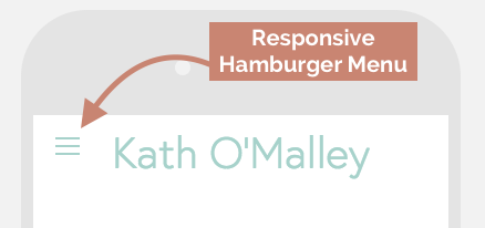 Responsive Hamburger Menu in Squarespace