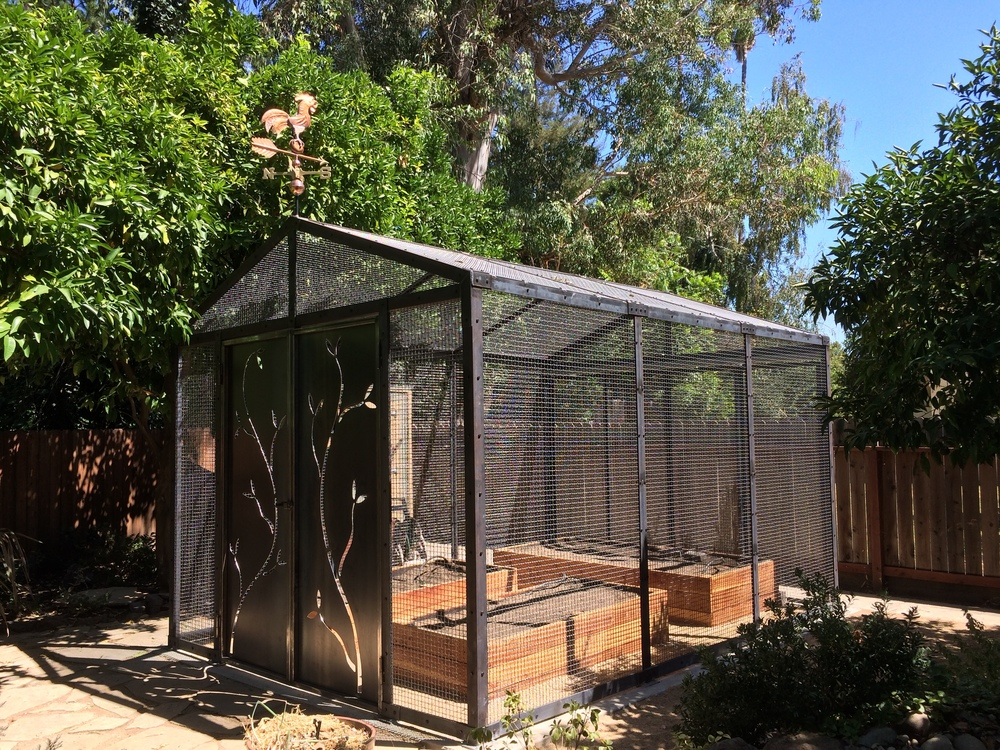 Industrial Mesh Greenhouse