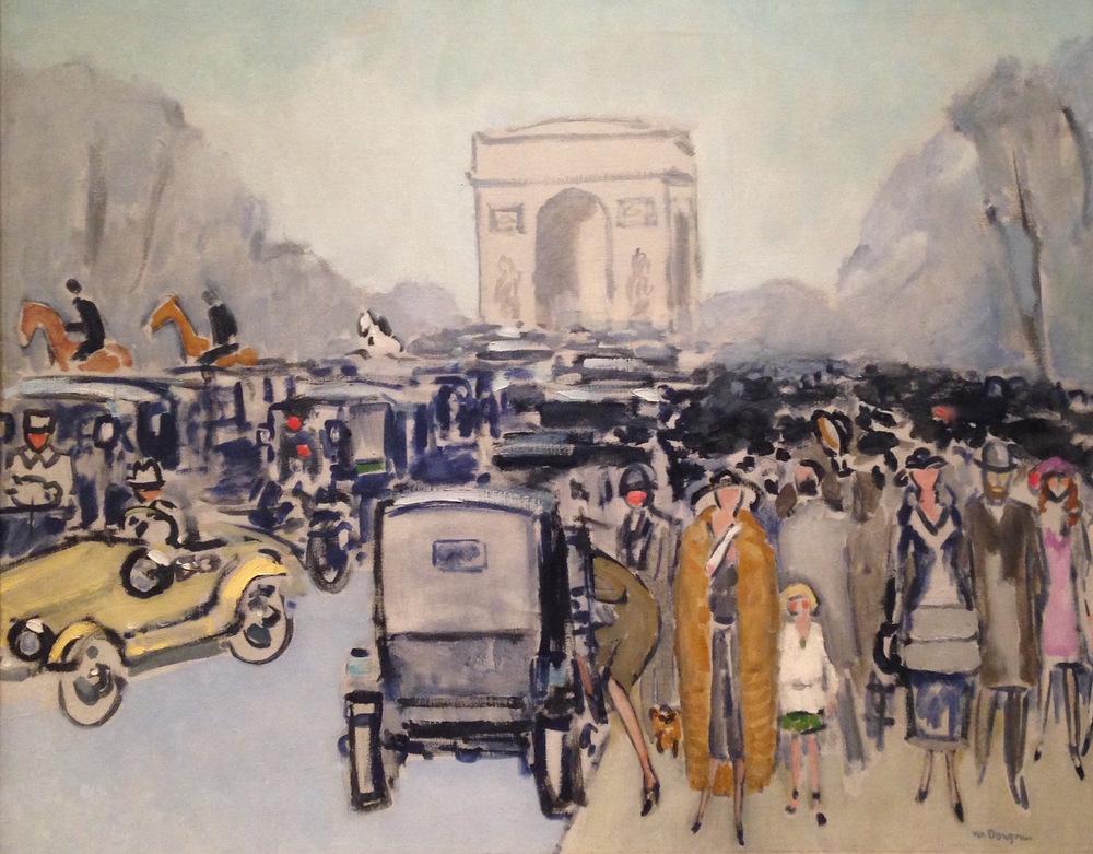 Kees van Dongen,  Avenue du Bois , ca. 1925 Metropolitan Museum Robert Lehman Collection