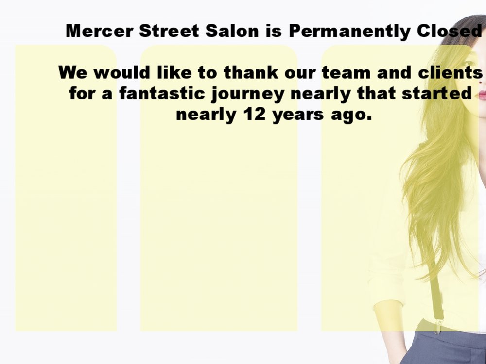 "Now  closed.  select ""meet the team"" to find out where your favorite stylist can be found now."