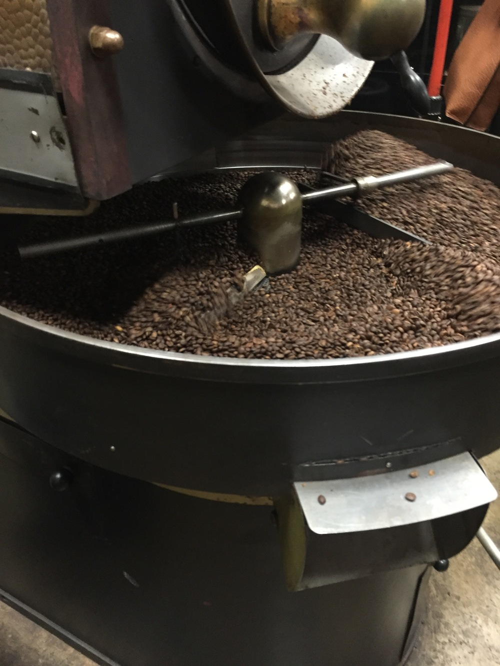 Our Next Stop, At Stauf's Roasting Facility, Might've Helped Dig Deeper  Into Those Stories Myers Was Talking About When We Made It To The Site,