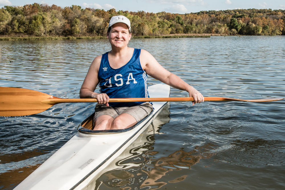 cancer survivor olympics kayak