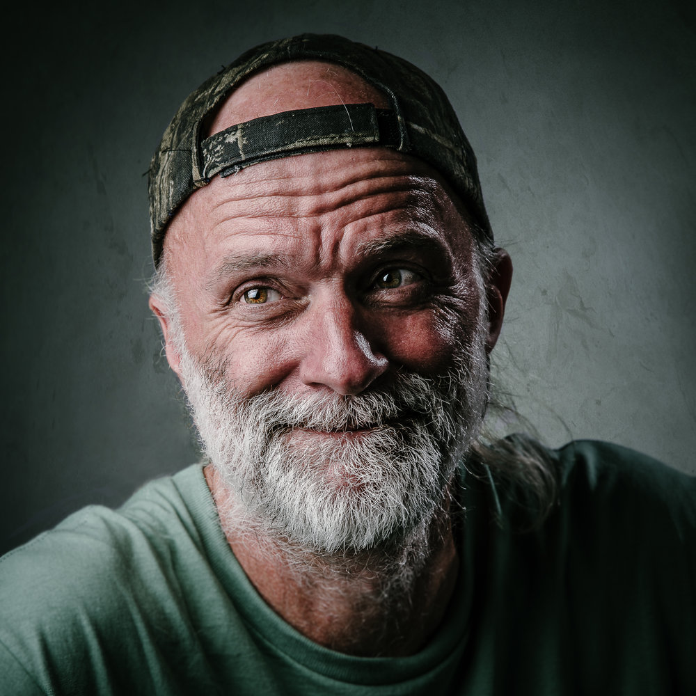 randy bacon, 7 billion ones, homeless, homelessness