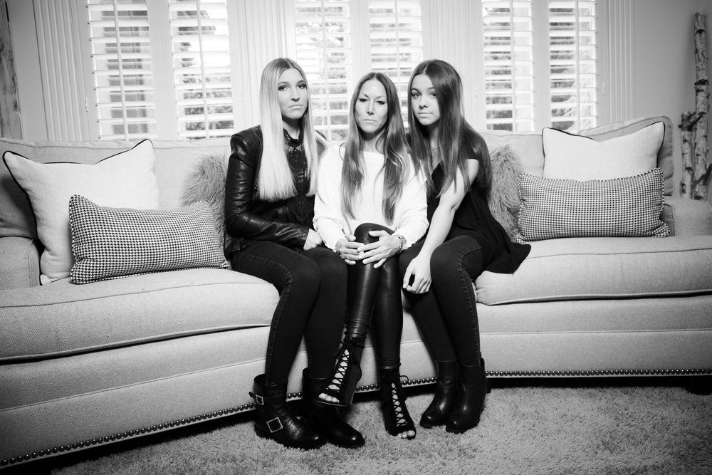 Kristi and her daughters