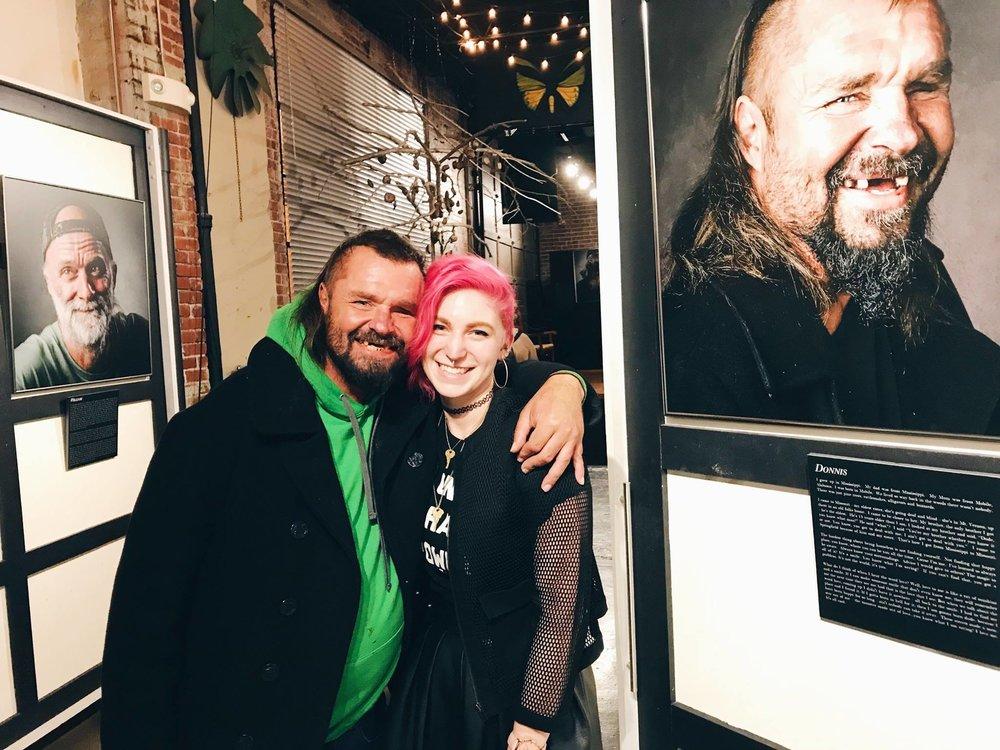 Caveman with Larissa, Movement Coordinator at 7 Billion Ones