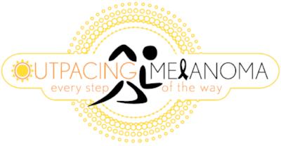 Outpacing Melanoma Logo