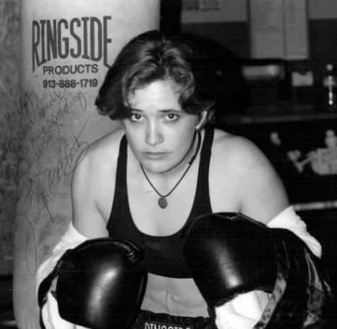 Jennifer McCartney boxing image