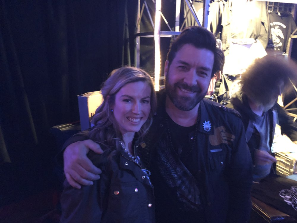 Jody with Bob Schneider
