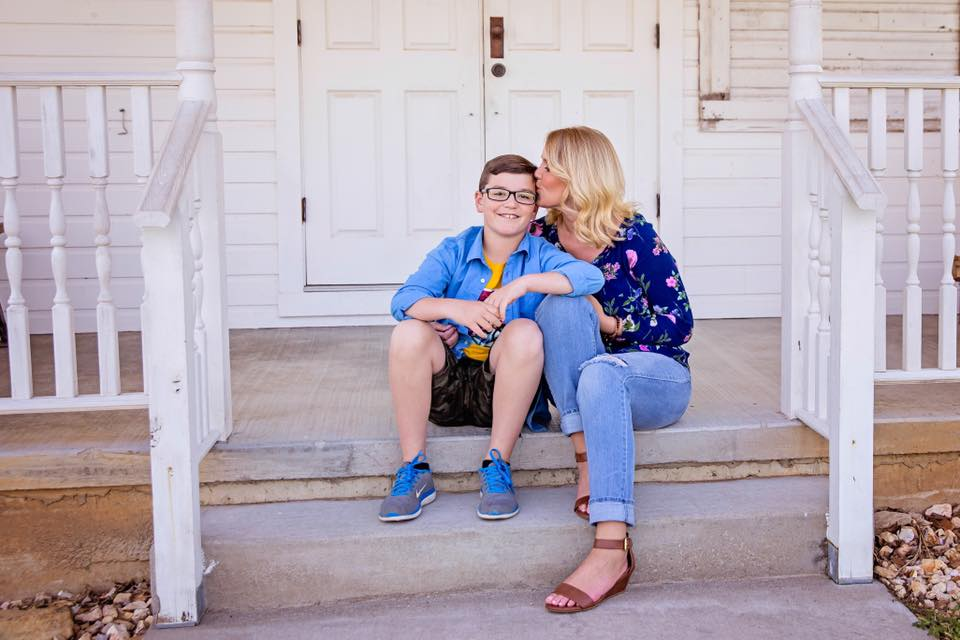 Stephanie and her son Jackson -    Photo by Grace Sullivan Photography