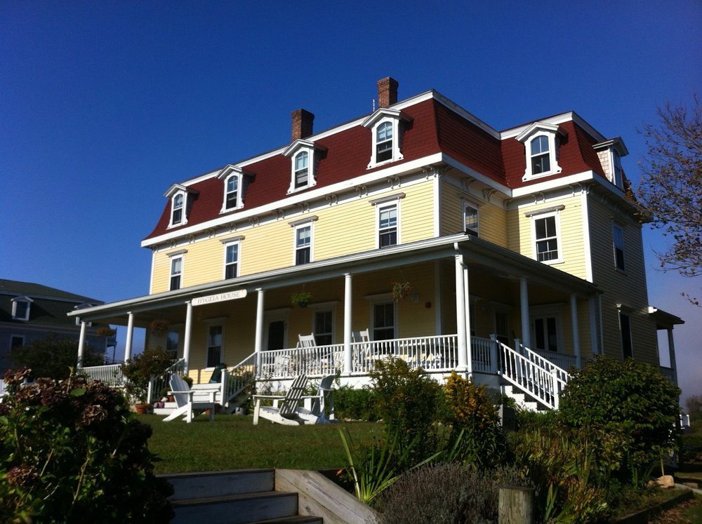Hygeia House, Block Island, R.I. Photo by Dennis M. Kirschbaum