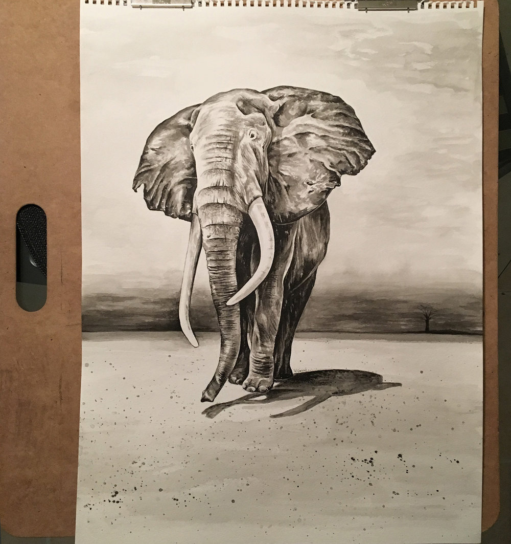 jordan fretz ink wash painting