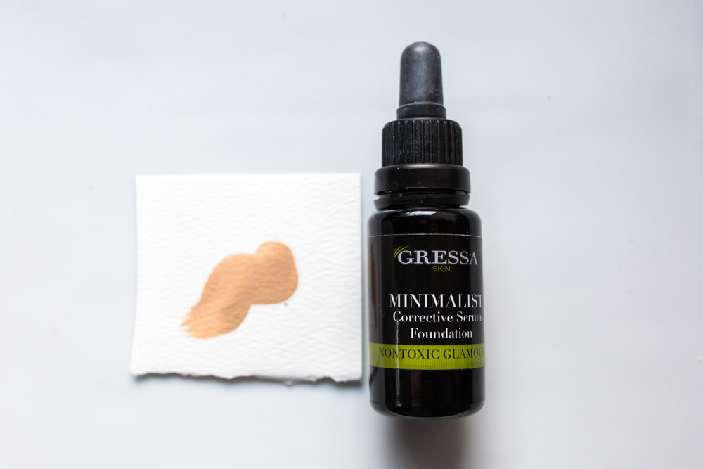 Gressa Skin Minimalist Corrective Serum Foundation in #03