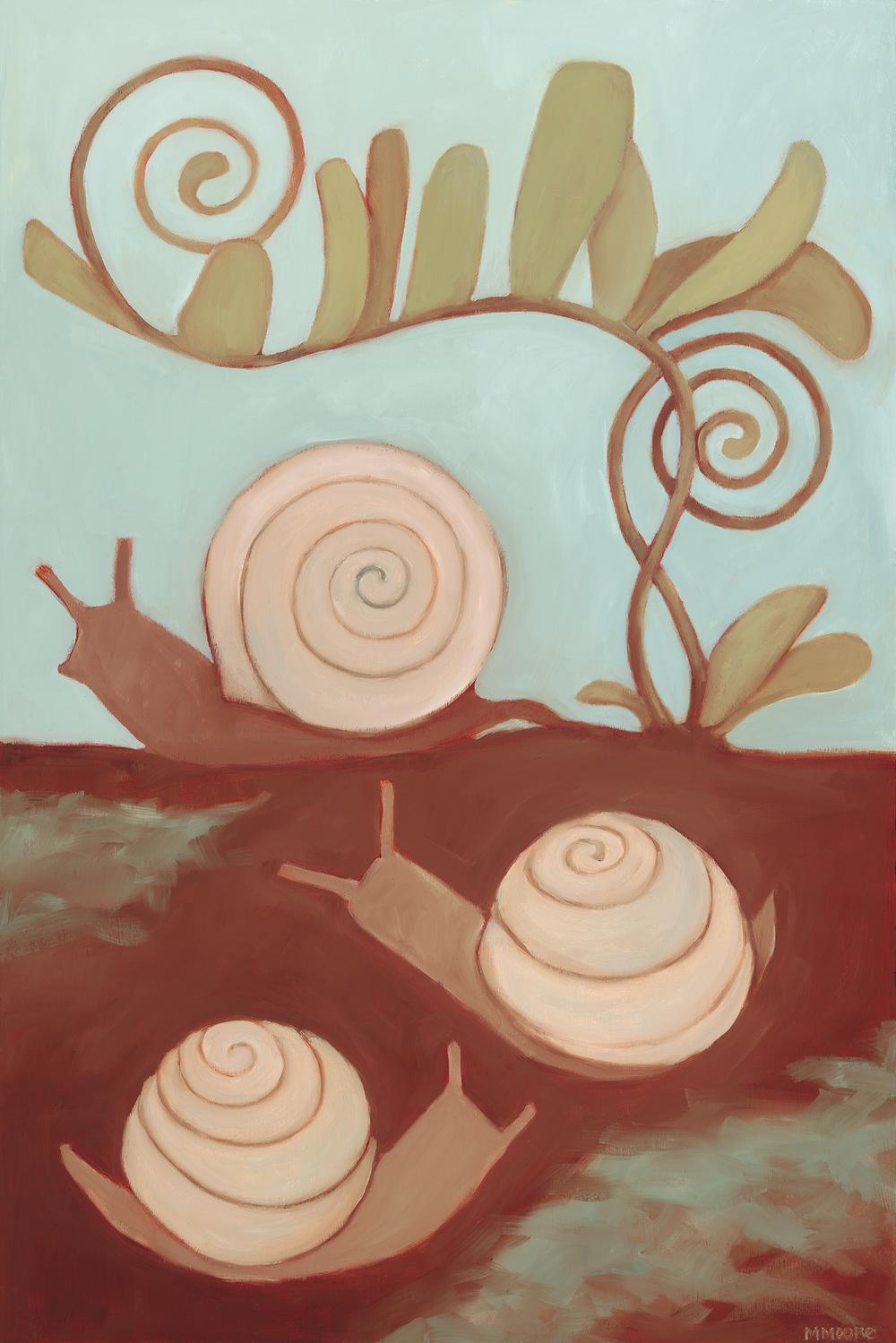 Snails & Fern