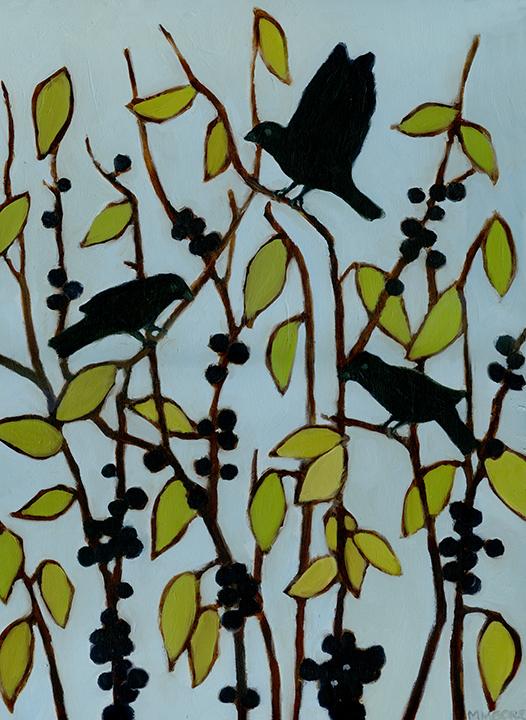 Black Birds & Berries