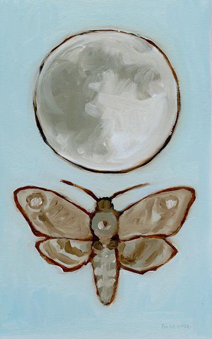 Pale Moon & Moth