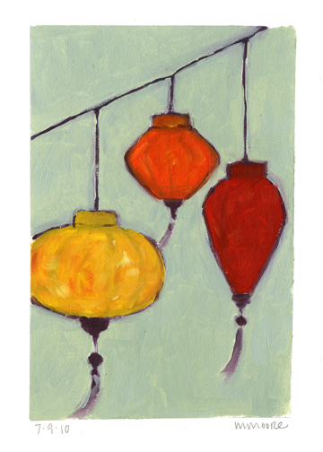 Three Lanterns