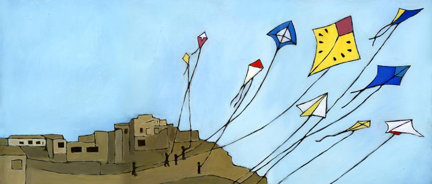 10 Kites Flying