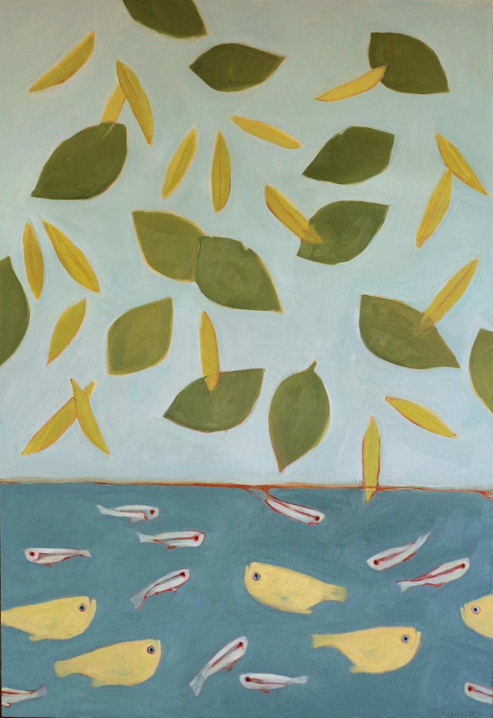 Leaves & Fish III