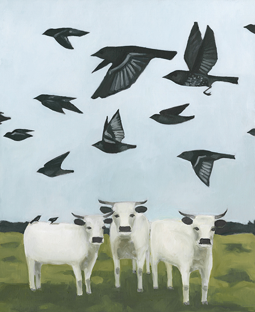 Starlings & Cattle