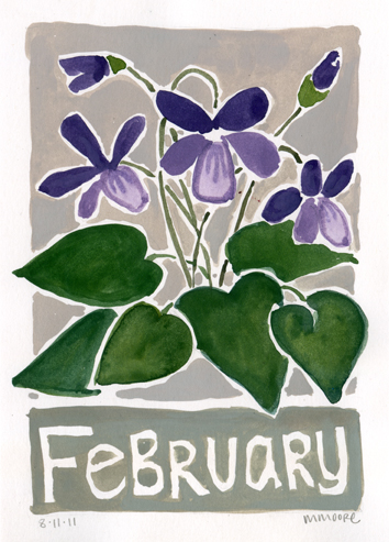 February Violets