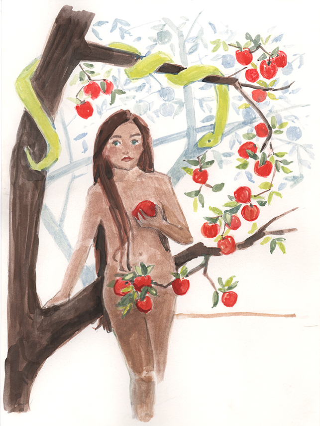 Temptation—Eve