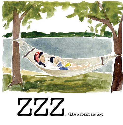 ZZZ, take a fresh air nap
