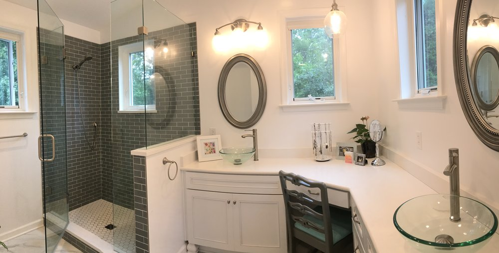 Grayson bathroom- Halcyon Contracting