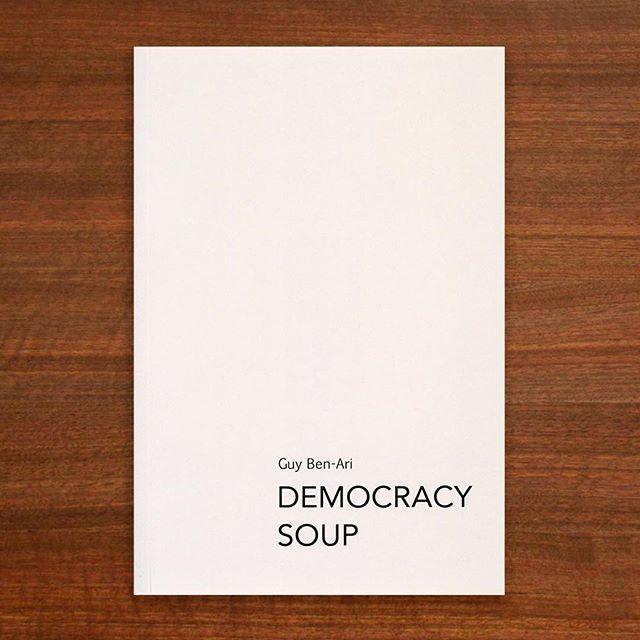 DEMOCRACY SOUP, an artist's book by Guy Ben-Ari, published by Meta Meta Meta LLC, 2016. #guybenari #democracysoup #drawing #book #artistsbook #art #contemporaryart #newyork #brooklyn #politics #media #television