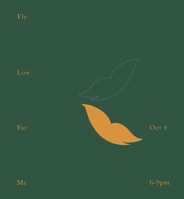 Please join us tomorrow for the opening  reception of Fly Low For Me, a solo show by our artist in residence Suzie Apostolides.  See you tomorrow (Thursday) 6-9pm at AGENCY, 20 Jay Street, Brooklyn NY 11201