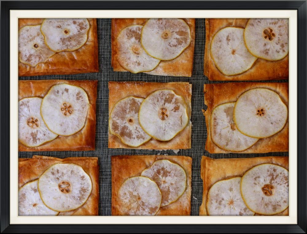 Picture perfect Filo Pear Tarts