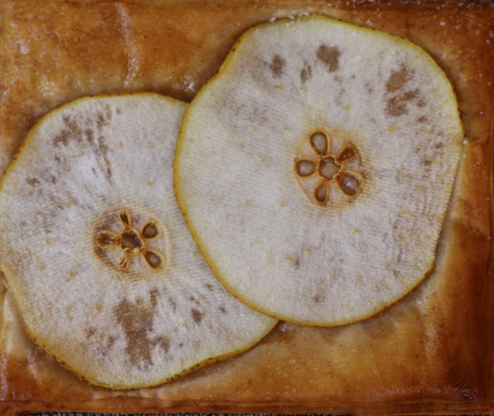 Filo Pear Tart