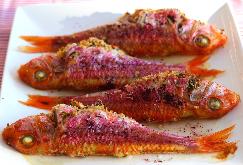 Stuffed Red Mullet