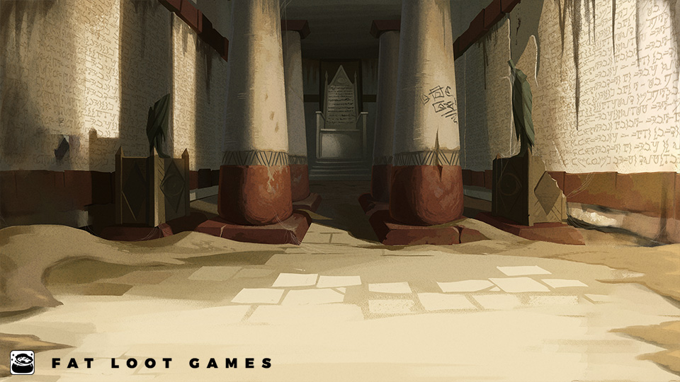 Fat Loot Games participated in the HD remasterof Defenders Quest: Valley of the Forgotten. We extended original backgrounds by Karen Petrasko (  karenpetrasko.com  ) to widescreen aspect ratios andhigh-resolution sizes. We also created 200+ character assets for RPG segments.