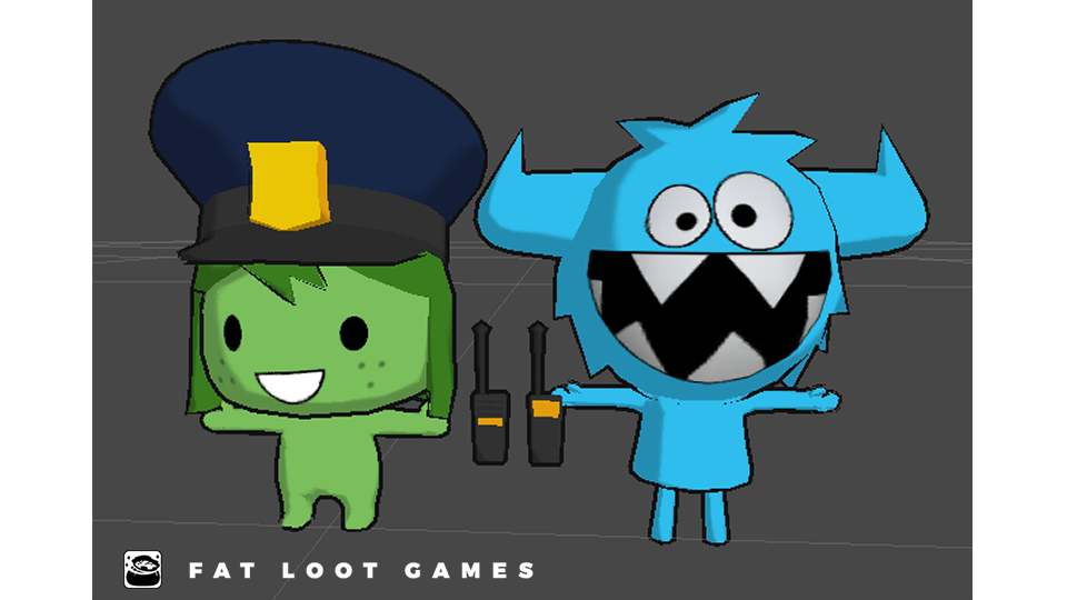 Fat Loot Games did 3D character modeling, rigging and animation for The Foos.